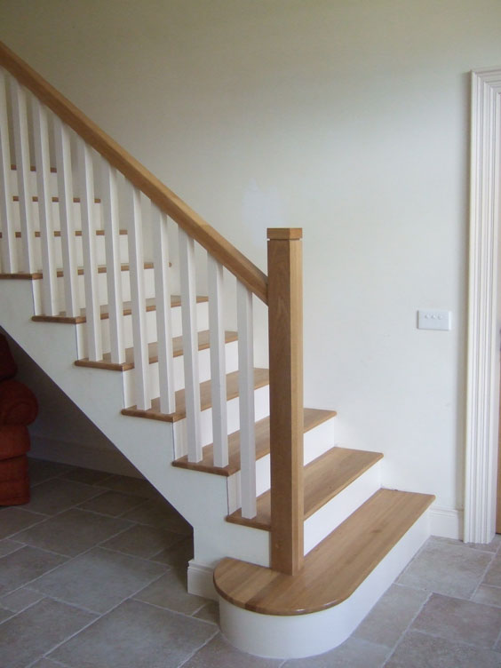 Wood Finish On Concrete Stairs - Photos Freezer and Stair