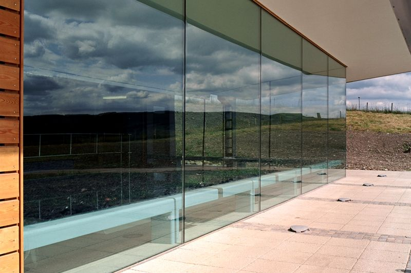 Frameless Glass Silicone Joint Detail