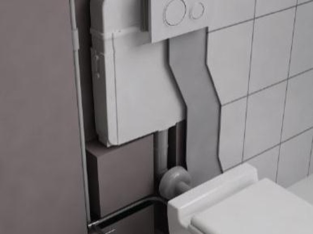 BATHROOM CERAMICS & CONCEALED CISTERNS