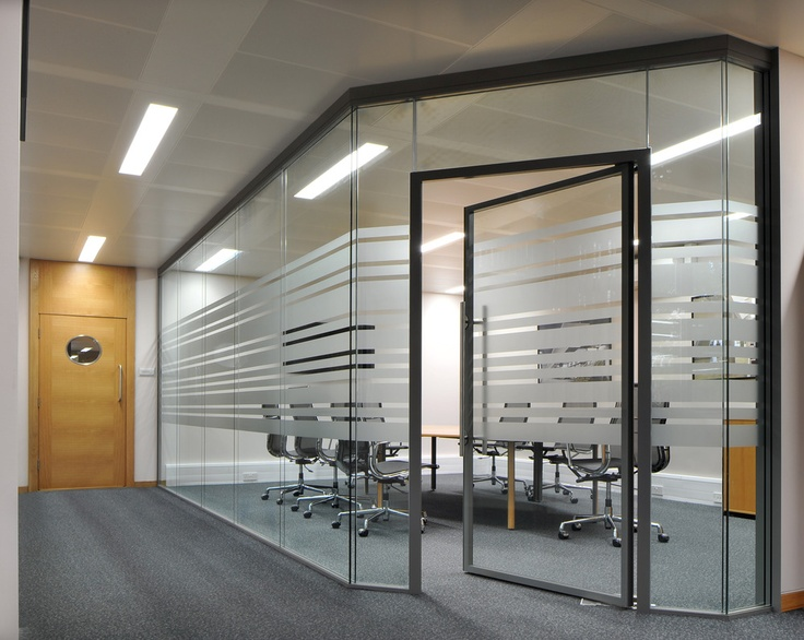 Completely Opaque Glass Changing Rooms